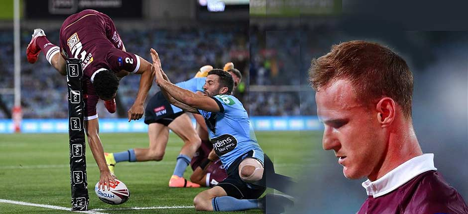 NSW Blues trash QLD Maroons 34-10 in State of Origin II