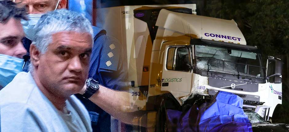 Victorian Truck driving cop killer gets 22 years
