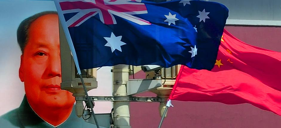China Australia economic framework suspended