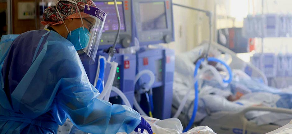 Virus ICU patients reporting symptoms 6m's after infection
