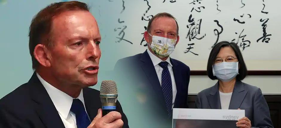 Chinese Foreign Ministry lashes out at Tony over Taiwan