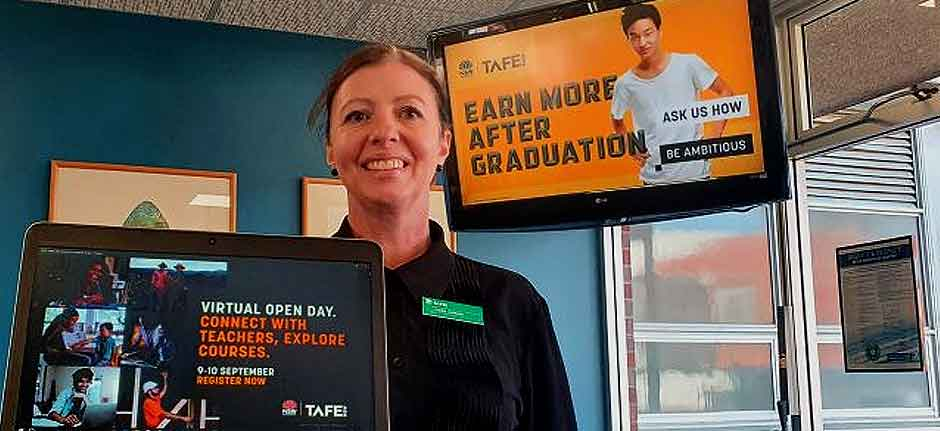 TAFE New South Wales virtual online only 'open day'