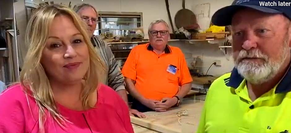 Mayors Message : 'PMH Thrives' at the Wauchope Men's Shed