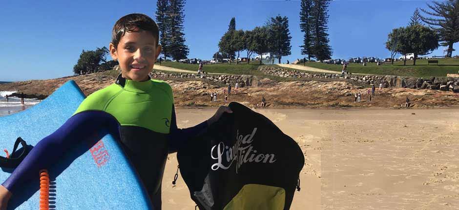 Meet Taj Cruz Lakin - Port Macquarie reef warrior
