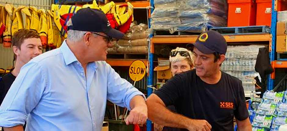 ScoMo tours flood ravaged Port Macquarie & Mid North Coast