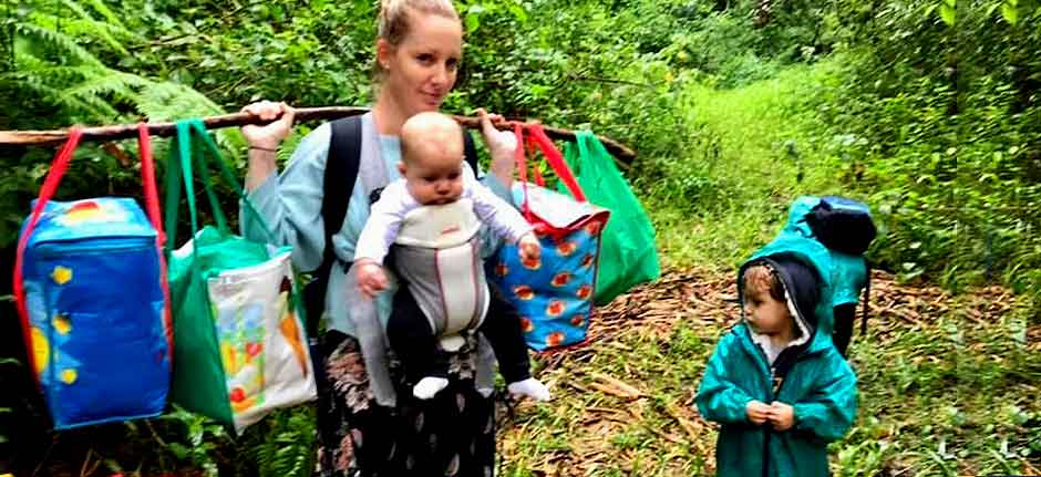 Upper Lansdowne family hikes to safety after cabin isolated