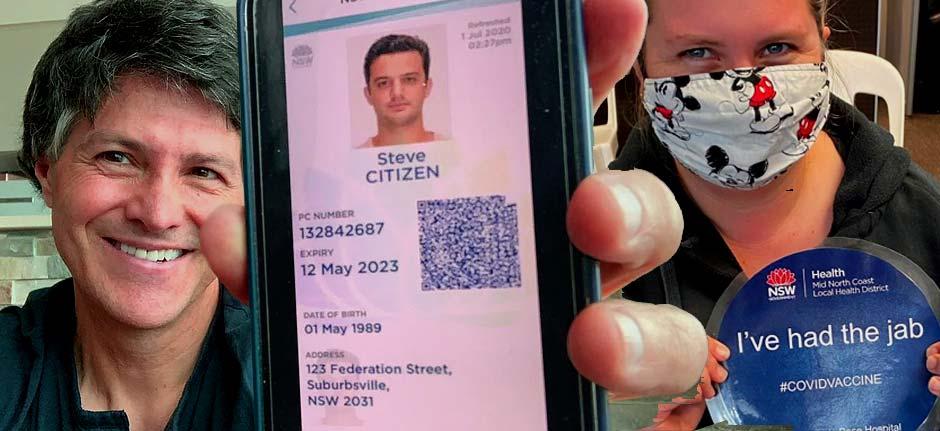 Port Macquarie : NSW Digital Vax Certificate trial starts