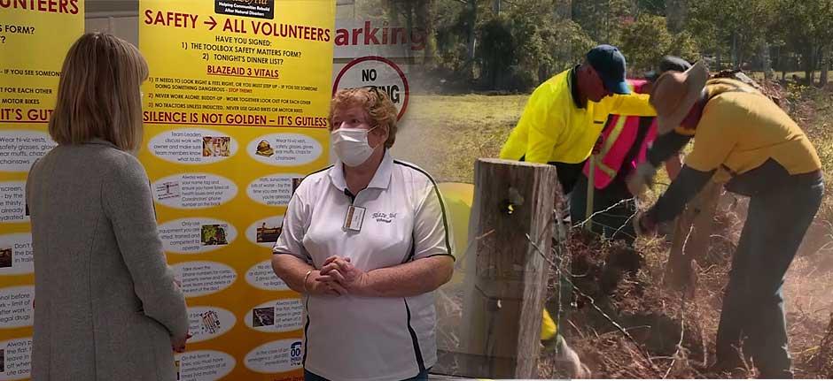 Wauchope : 'BlazeAid' says volunteer numbers are drying up
