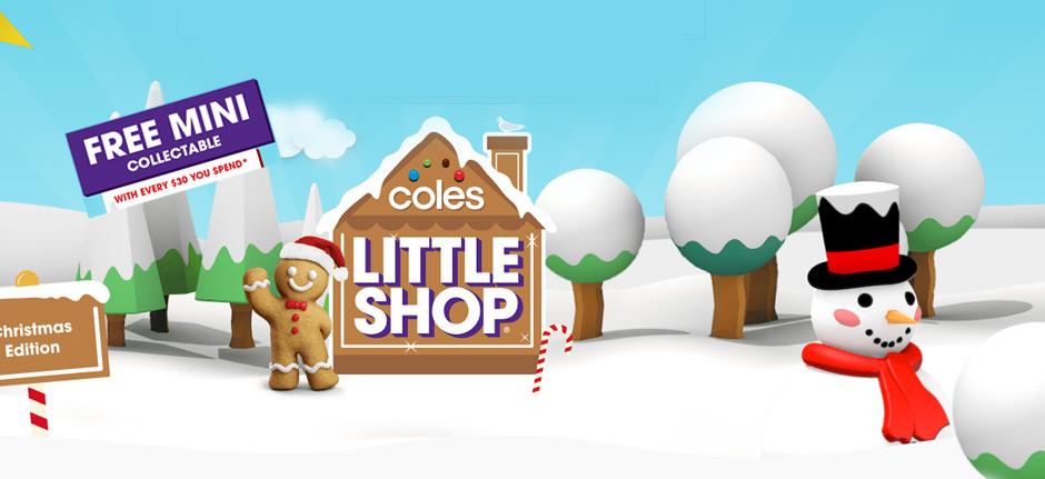 Coles adds a little extra joy with 'mini' festive range