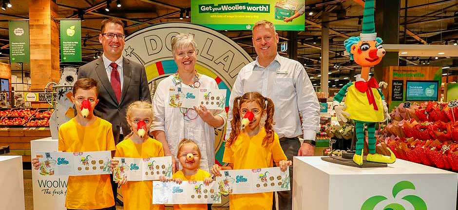 Woolworths celebrates 60 years of Mr Squiggle
