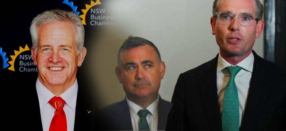 NSW Budget 'Back On Track' says Business NSW's Kellon Beard