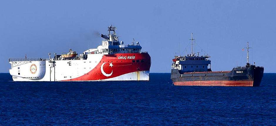 Greece condemns Ankara as Turkish survey ship sets sail