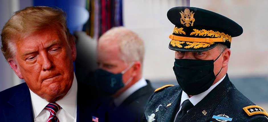 Ten Pentagon chiefs warn Trump against involving military