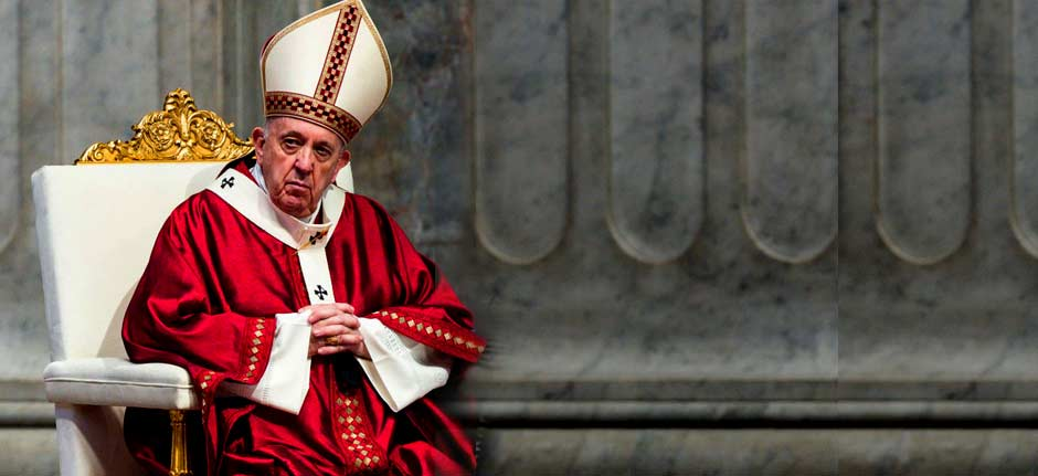Pope criticizes people going on holiday to avoid lockdowns