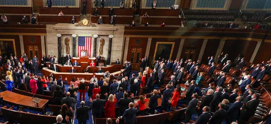Victory ! Congress certifies President Joe Biden's win