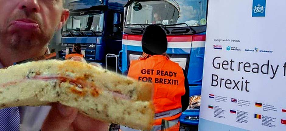Brexit: UK driver has ham sandwiches confiscated at border