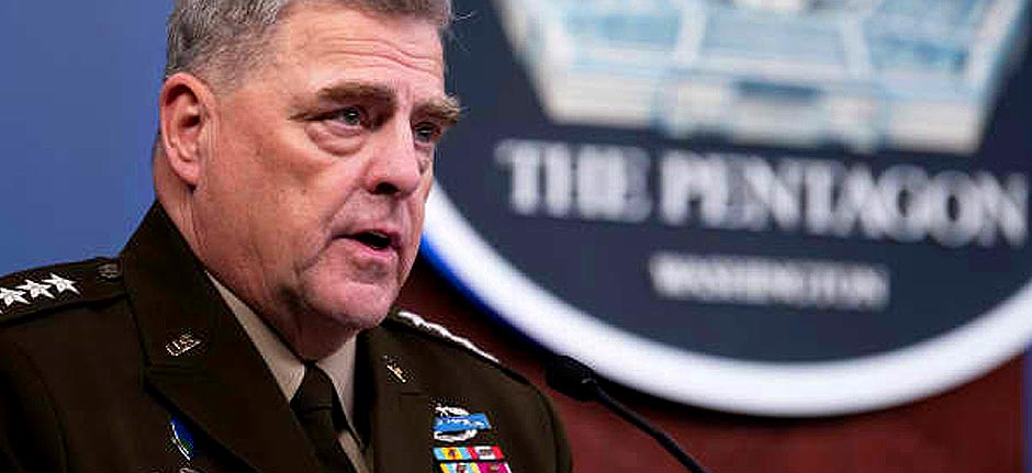 US Military Joint Chiefs condemn 'sedition & insurrection'