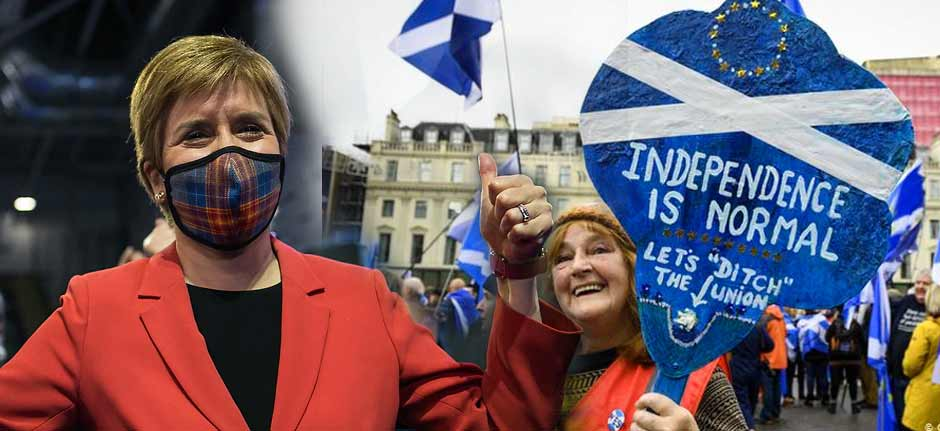 'The scots are revolting' Pro-Independents hold Scotland