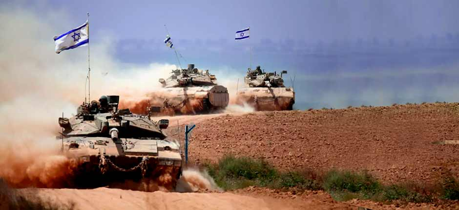 Israel forces 'Attacking' in Gaza as conflict intensifies