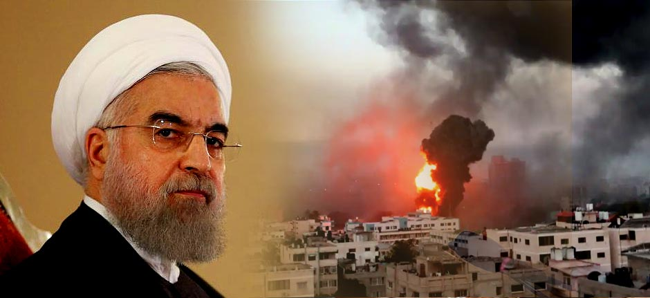 Iran : 'Zionists will Burn in the flames of the wrath'
