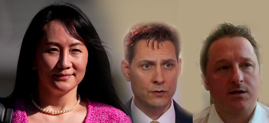 China swaps 2 imprisoned Canadians for Huawei 'Princess'