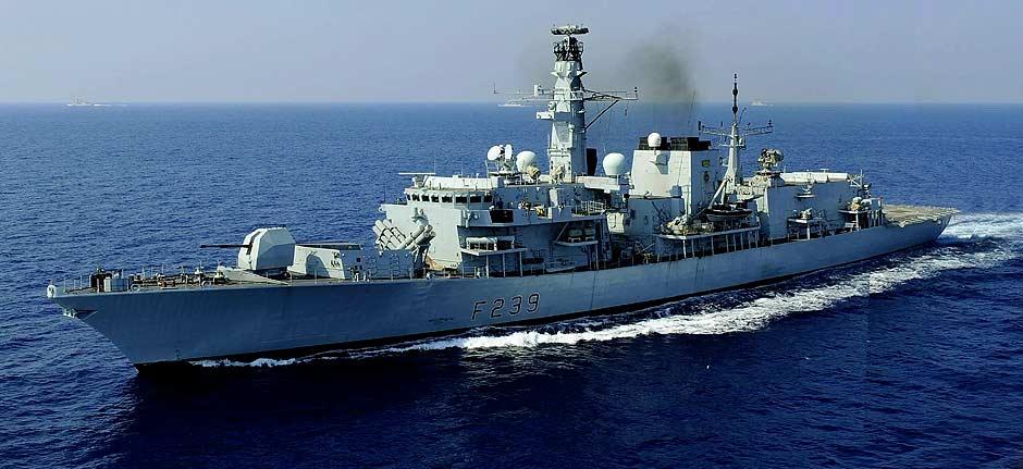 China says it warned off British warship in Taiwan Strait