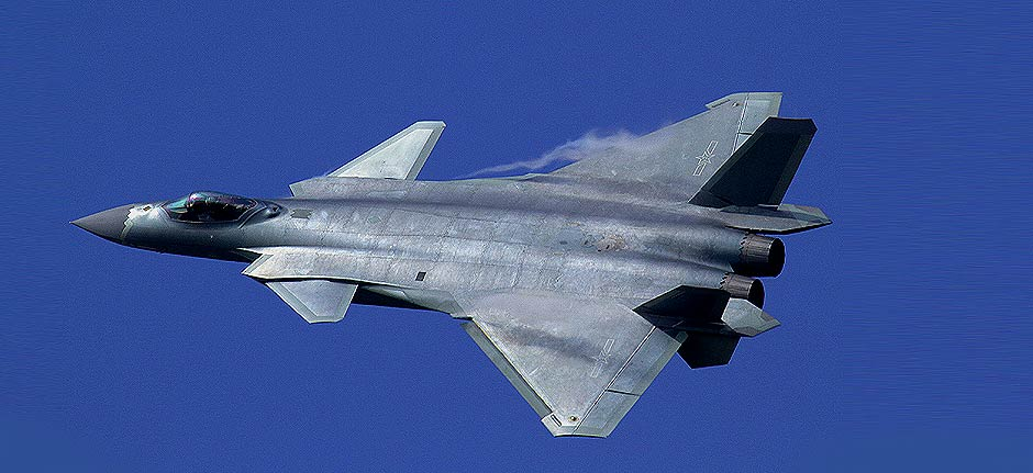 Watch out Australia : China has shown off its new fighter