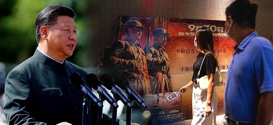 China's Korean War propaganda movie smashes records