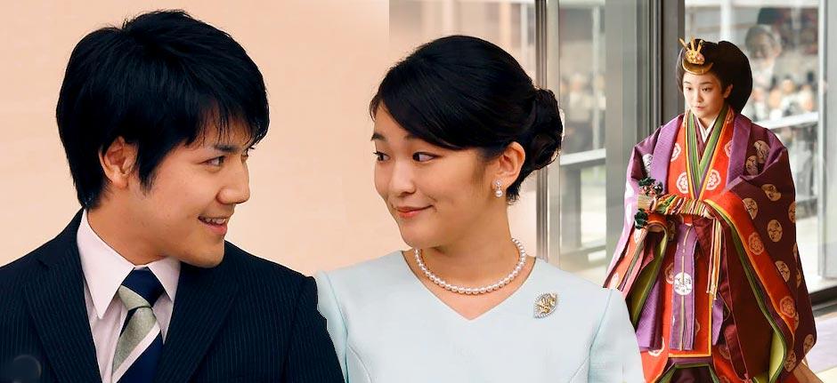 Japan's Princess Mako & Kei Komuro to marry this month