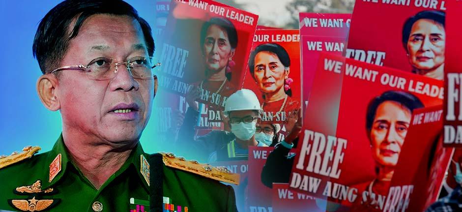 Myanmar to release 5,600 held over anti-junta protests