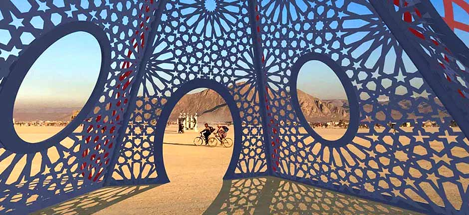 burning man 2019 revisited - the myth of andromeda