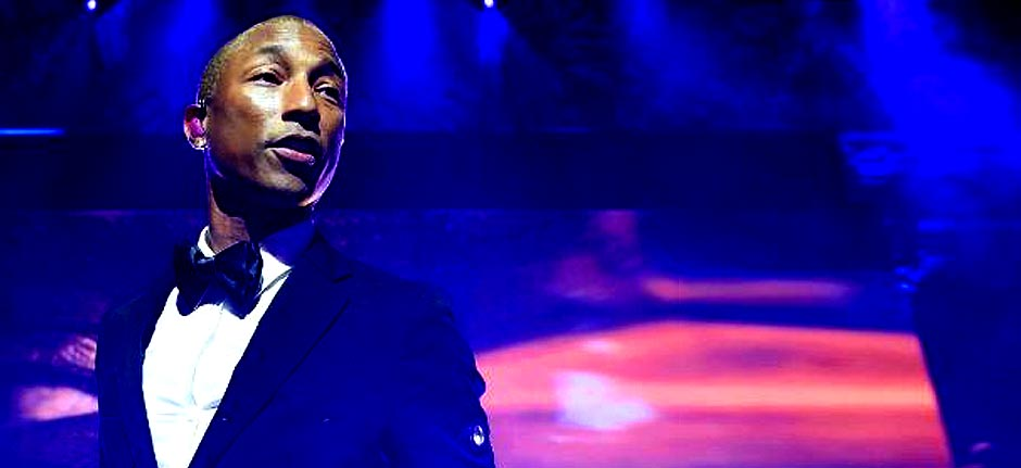 Pharrell Williams surprises graduates with virtual speech