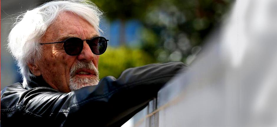 Former F1 chief Bernie Ecclestone becomes a father at 89