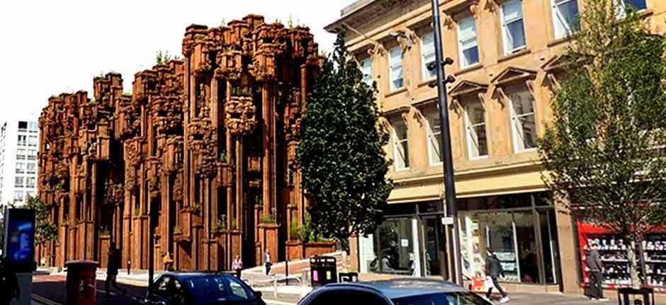 Rennie Mackintosh's Glasgow School of Art re-imagined