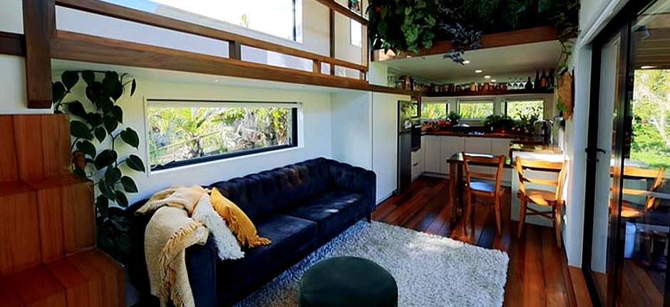 Lady Designed & Built Tiny House For Herself & Daughter
