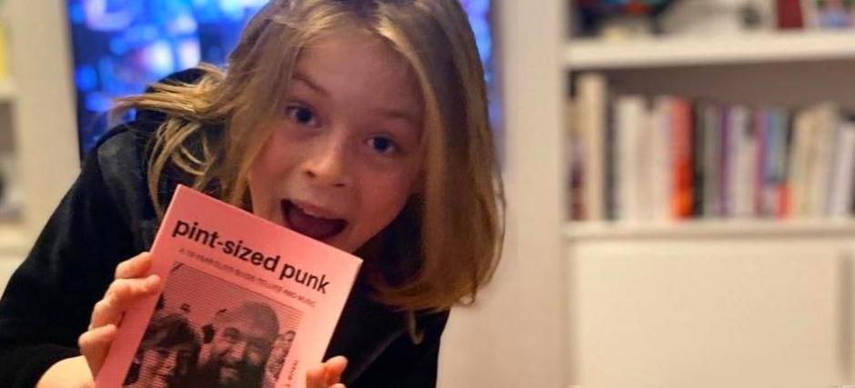 10-year-old creates lockdown print hit for punk fans