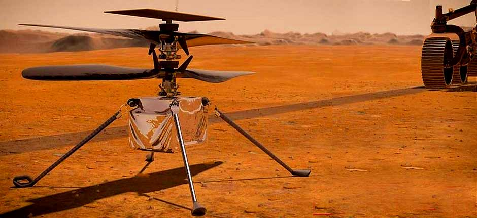 NASA's Ingenuity Helicopter: First Powered Flight on Mars
