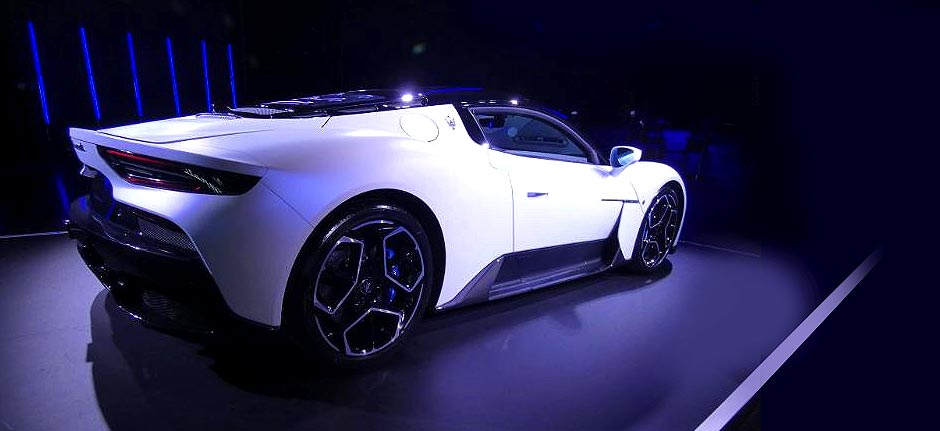 Maserati unveiled its first supercar in 15 years, the MC20