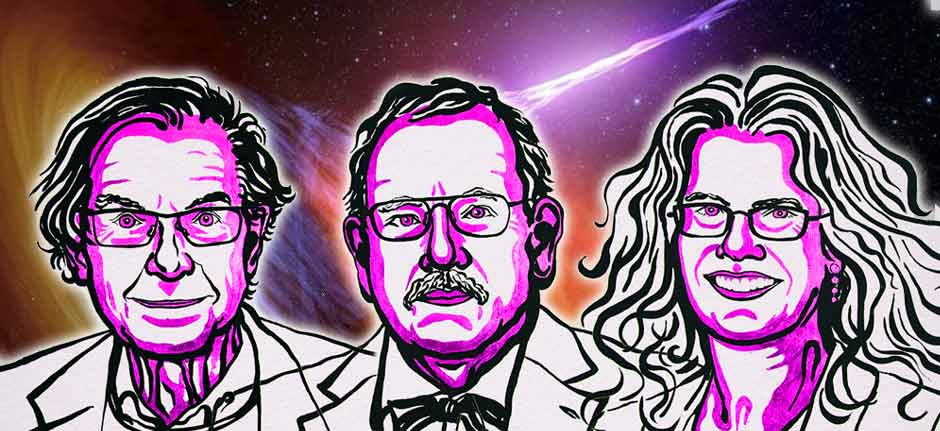 three 'Blackholers' take out 2020 nobel prize for physics