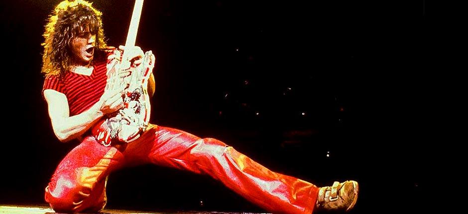 legendary guitarist Eddie Van Halen 'Jumps' for last time