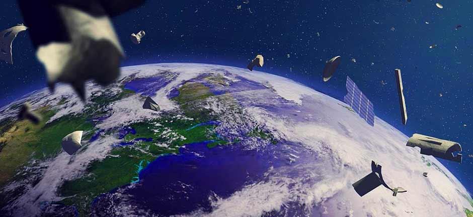 Orbiting 'Space Junk' 25m Near Miss Happened Yesterday