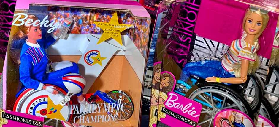 Meet Becky the Paralympic Barbie From Sydney Olympics