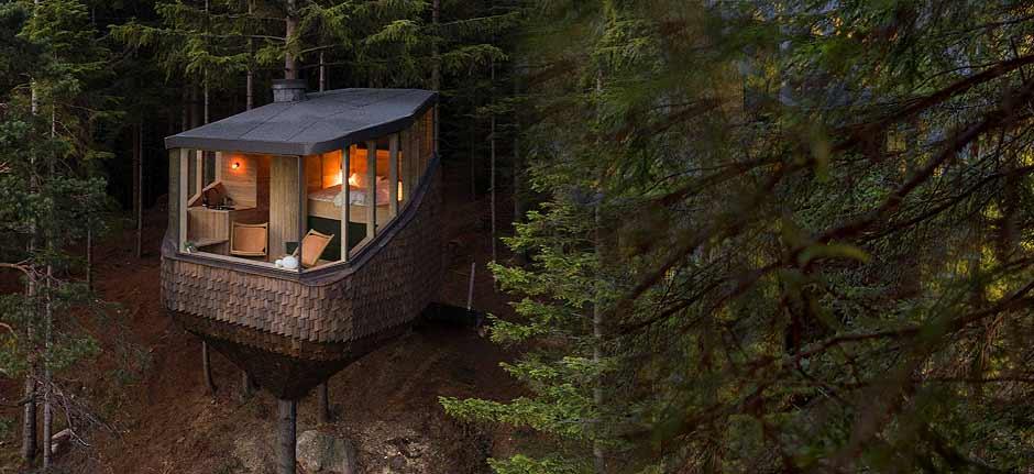 'Woodnest' Treehouse By helen & hard, odda, norway