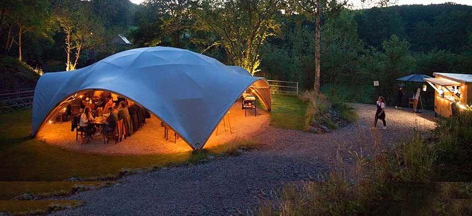 arkDomes : a new reiteration of the geodesic dome concept