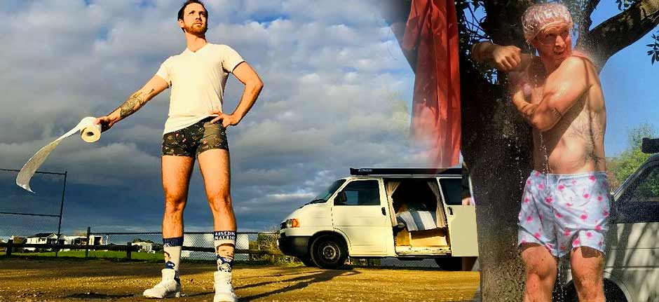 'van life' - The fun alternative to international travel