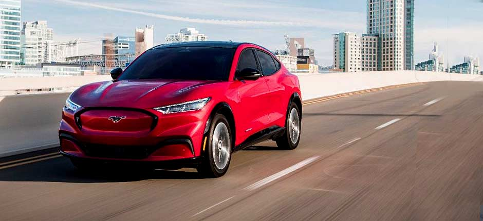 Ford Mustang Mach-E wins US SUV of the Year award