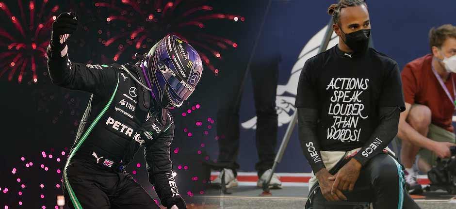F1 Bahrain GP : Hamilton wins, Daniel Ricciardo solid 7th