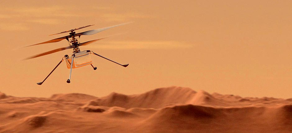 NASA's 'Ingenuity' helicopter ready for first Mars flight