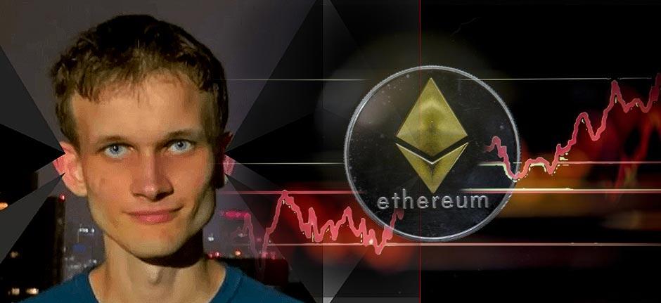 Vitalik Buterin, Ethereum's creator, now a billionaire