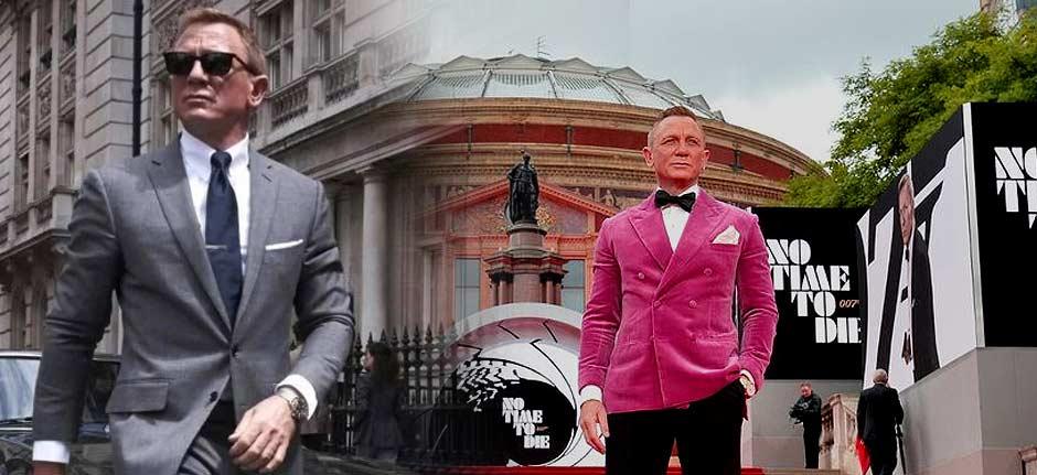 'No Time to Die' premiere a farewell to 007 Daniel Craig